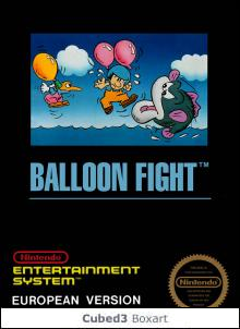 Box art for Balloon Fight