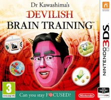 Box art for Dr. Kawashima's Devilish Brain Training: Can You Stay Focused?
