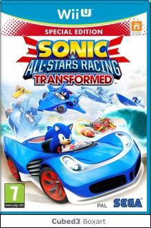 Box art for Sonic & All-Stars Racing Transformed