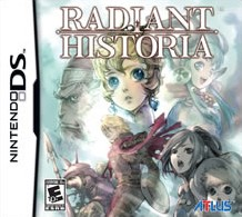 Box art for Radiant Historia