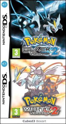 Box art for Pokémon Black Version 2 / White Version 2