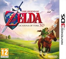 Box art for The Legend of Zelda: Ocarina of Time 3D