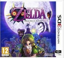 Box art for The Legend of Zelda: Majora's Mask 3D