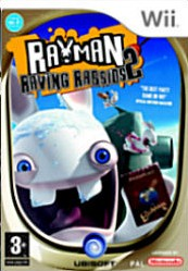 Box art for Rayman Raving Rabbids 2