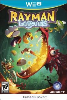 Box art for Rayman Legends
