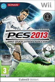 Box art for Pro Evolution Soccer 2013