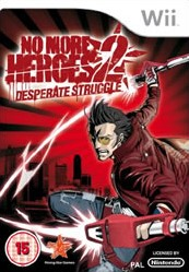 Box art for No More Heroes 2: Desperate Struggle