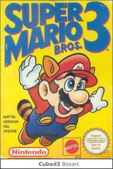 Box art for Super Mario Bros. 3