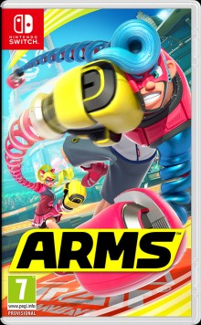 Box art for ARMS