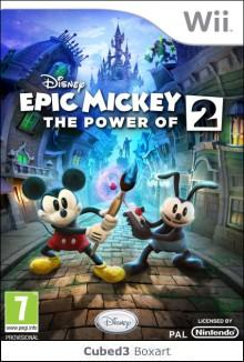 Box art for Disney Epic Mickey 2: The Power of Two