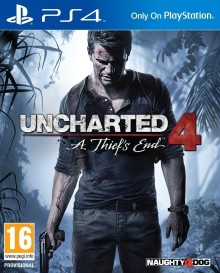 Box art for Uncharted 4: A Thief's End