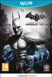 Box art for Batman: Arkham City - Armoured Edition