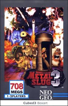 Box art for Metal Slug 3