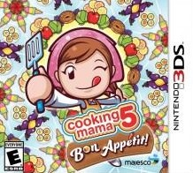 Box art for Cooking Mama 5: Bon Appétit!