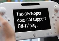 Streaming Games to Wii U GamePad Optional for Developers - Known as Off-TV Play on Nintendo gaming news, videos and discussion