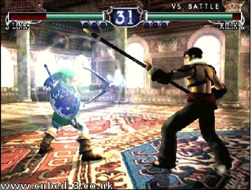 Screenshot for Soul Calibur II on GameCube - on Nintendo Wii U, 3DS games review