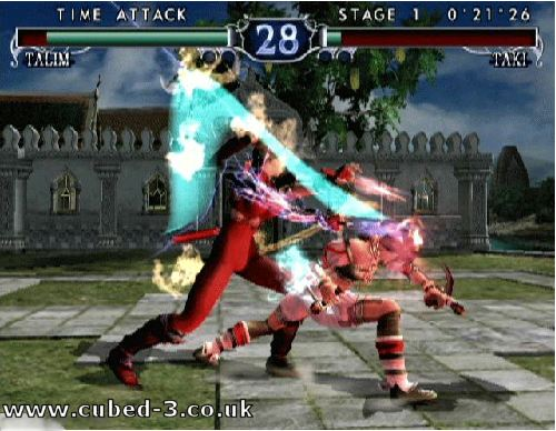 Screenshot for Soul Calibur II on GameCube- on Nintendo Wii U, 3DS games review