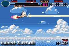 Screenshot for Astro Boy: Omega Factor on Game Boy Advance
