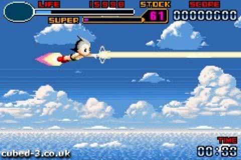 Screenshot for Astro Boy: Omega Factor - click to enlarge
