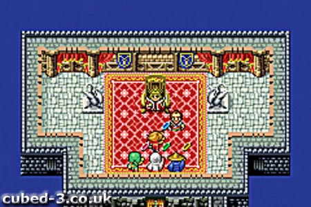 Screenshot for Final Fantasy I & II: Dawn of Souls on Game Boy Advance - on Nintendo Wii U, 3DS games review