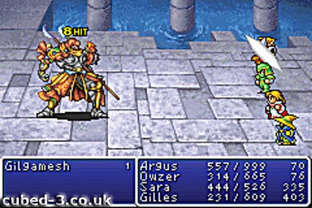 Screenshot for Final Fantasy I & II: Dawn of Souls on Game Boy Advance- on Nintendo Wii U, 3DS games review