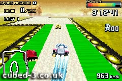 Screenshot for F-Zero: GP Legend on Game Boy Advance - on Nintendo Wii U, 3DS games review