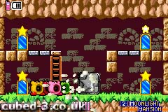 Screenshot for Kirby & the Amazing Mirror - click to enlarge