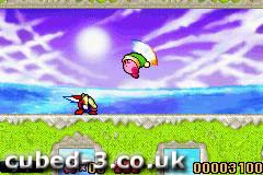 Screenshot for Kirby: Nightmare in Dream Land on Game Boy Advance