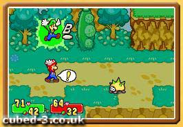 Mario Luigi Superstar Saga Game Boy Advance Review Page 1