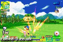 Screenshot for Mario Golf: Advance Tour on Game Boy Advance- on Nintendo Wii U, 3DS games review
