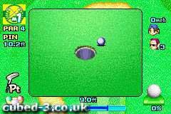 Screenshot for Mario Golf: Advance Tour - click to enlarge