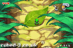 Screenshot for The Legend of Zelda: The Minish Cap on Game Boy Advance- on Nintendo Wii U, 3DS games review