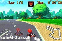 Screenshot for Mario Kart: Super Circuit on Game Boy Advance