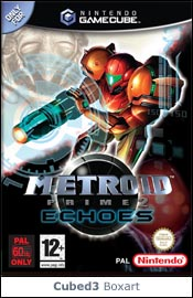 Box art for Metroid Prime 2: Echoes