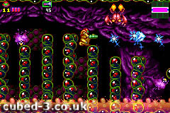 Screenshot for Metroid: Zero Mission on Game Boy Advance - on Nintendo Wii U, 3DS games review