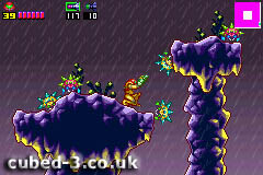Screenshot for Metroid: Zero Mission on Game Boy Advance