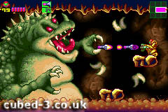 Screenshot for Metroid: Zero Mission on Game Boy Advance- on Nintendo Wii U, 3DS games review