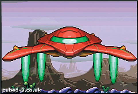 Screenshot for Metroid: Zero Mission - click to enlarge