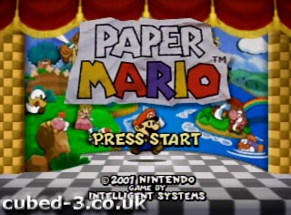 Screenshot for Paper Mario on Nintendo 64 - on Nintendo Wii U, 3DS games review