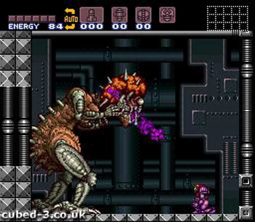 Screenshot for Super Metroid on Super Nintendo - on Nintendo Wii U, 3DS games review