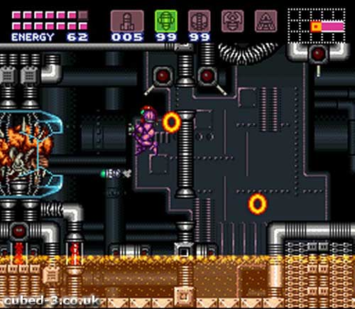 Screenshot for Super Metroid on Super Nintendo- on Nintendo Wii U, 3DS games review