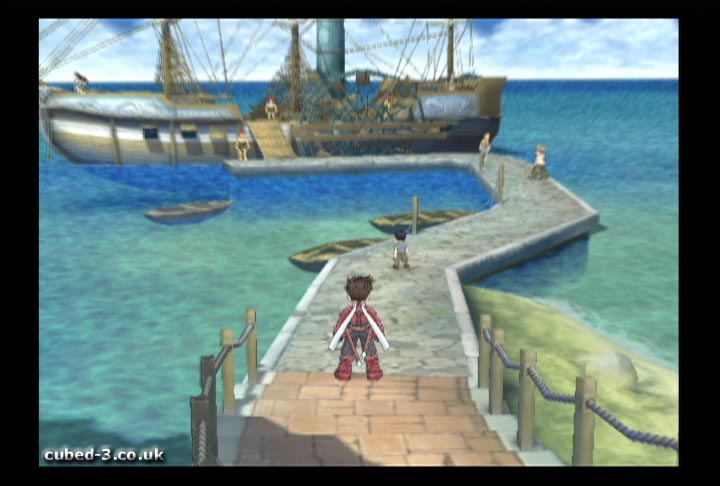 Screenshot for Tales of Symphonia on GameCube- on Nintendo Wii U, 3DS games review