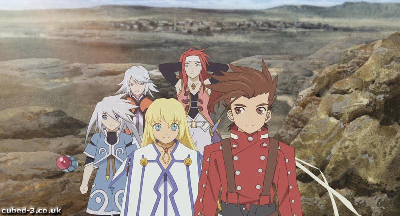 Screenshot for Tales of Symphonia on GameCube - on Nintendo Wii U, 3DS games review
