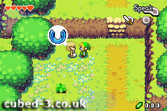 Screenshot for The Legend of Zelda: The Minish Cap - click to enlarge