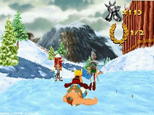 Screenshot for Asterix and Obelix XXL on Game Boy Advance