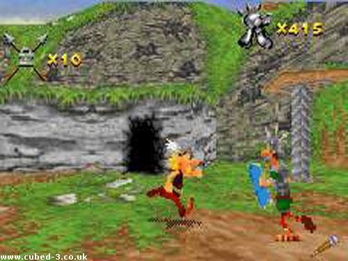 Screenshot for Asterix & Obelix XXL on Game Boy Advance - on Nintendo Wii U, 3DS games review