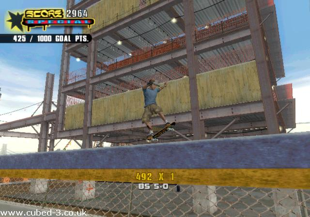 Screenshot for Tony Hawk's Underground 2 - click to enlarge