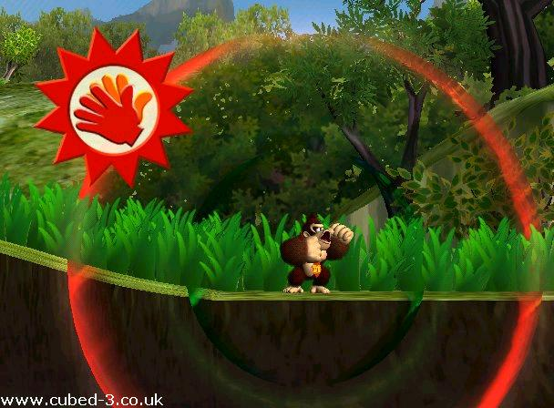 Screenshot for Donkey Kong Jungle Beat on GameCube- on Nintendo Wii U, 3DS games review