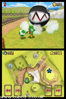 Screenshot for Super Mario 64 DS on Nintendo DS - on Nintendo Wii U, 3DS games review