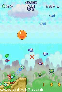 Screenshot for Yoshi Touch & Go - click to enlarge
